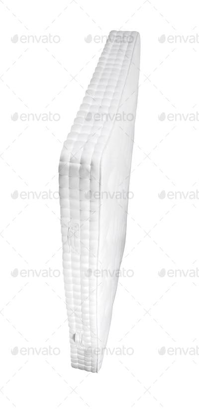 Orthopedic mattress isolated