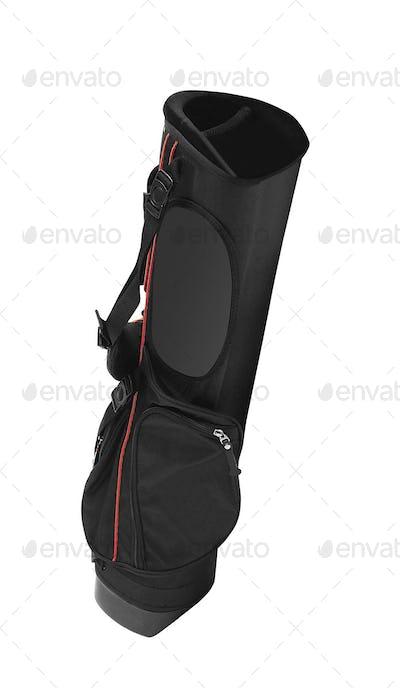 black bag isolated