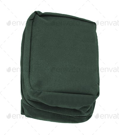Small sport bag isolated