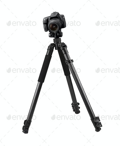 The digital camera isolated