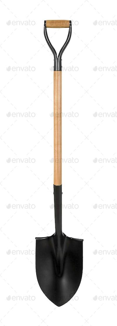 Shovel isolated