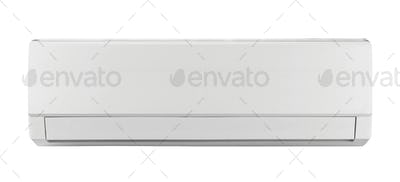 white conditioner isolated