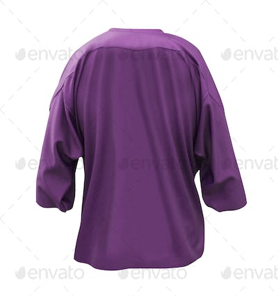 Long-sleeved T-shirt isolated