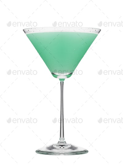 Cosmopolitan cocktail isolated