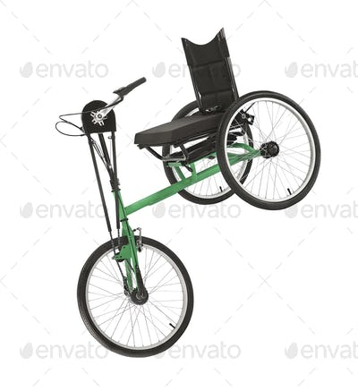 Tricycle isolated