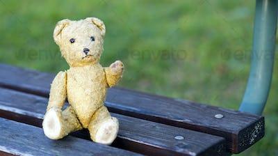 Retro toy bear