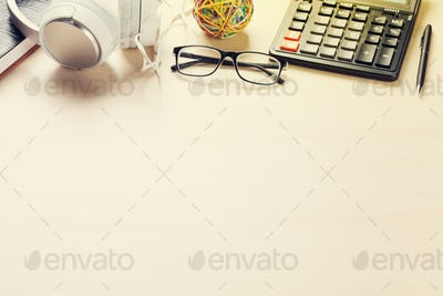 Office desk workplace