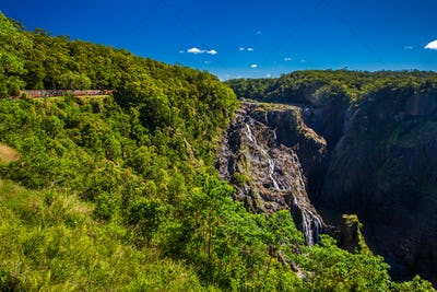 Barron Falls and Kuranda Scenic Railways, Queensland, Australia