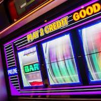Spinning Slot Machine Drums