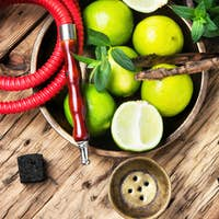 exotic nargile with lime