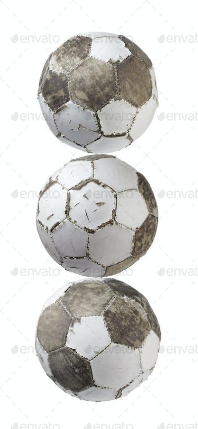 Worn Footballs