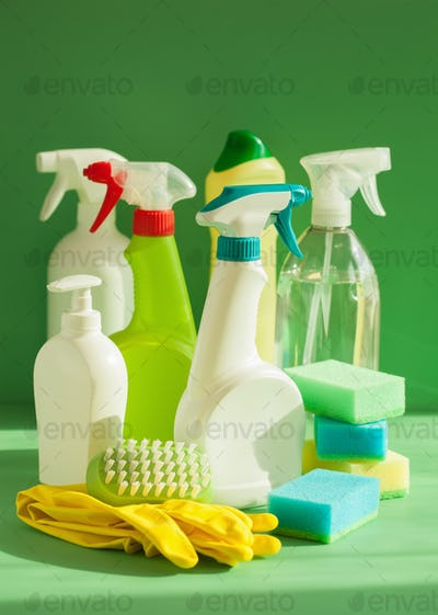 cleaning items household spray brush sponge glove