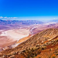 Death Valley epic landscape shot from Dantes View