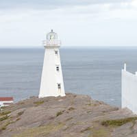 New Lighthouse Cape Spear Historic Site NL Canada