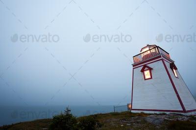 Fort Point Lighthouse Trinity Newfoundland Canada