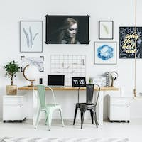 Hipster home office