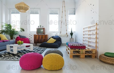 Chillzone in apartment