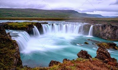 Godafoss Waterfall,Iceland