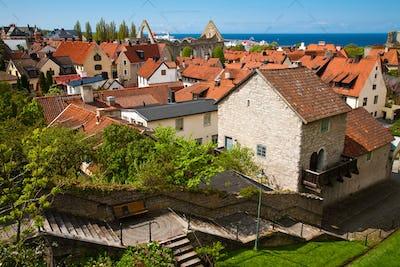 Visby city at Gotland, Sweden