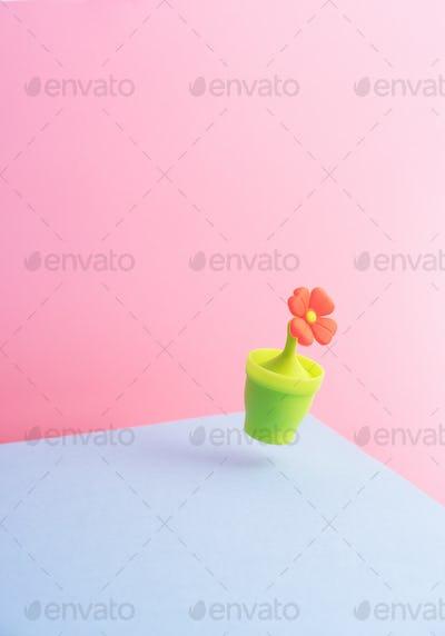 Cute Orange Flower