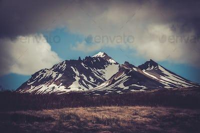 Landscape of Thingvellir National Park ,Iceland