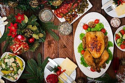 Baked turkey or chicken