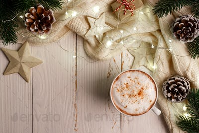 hot winter coffee
