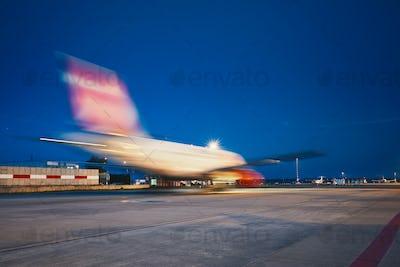 Night take off