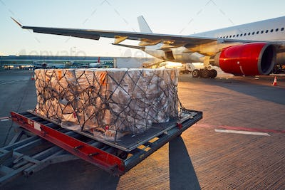 Loading to the aircraft