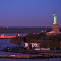 Statue of Liberty Before Sunrise