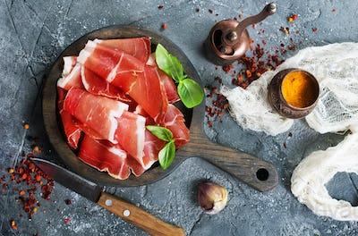 smoked parma ham