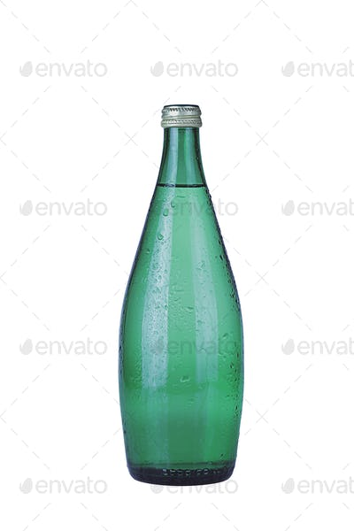 Water Glass Bottle Isolated