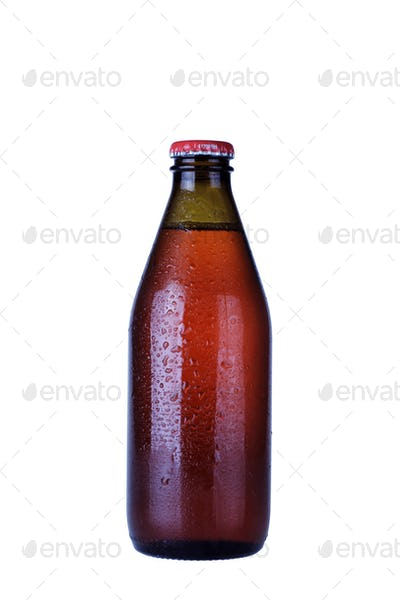 Drink Glass Bottle Isolated