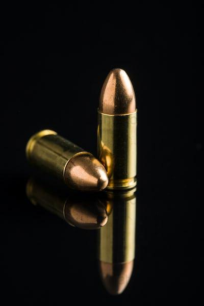 9mm pistol bullets.