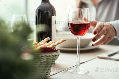 Fine dining and wine tasting