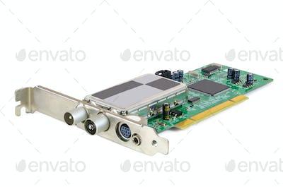 Analog TV card for desktop computer