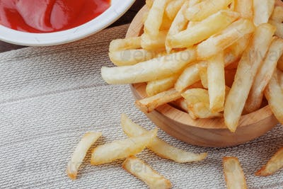 French fries in a bowl