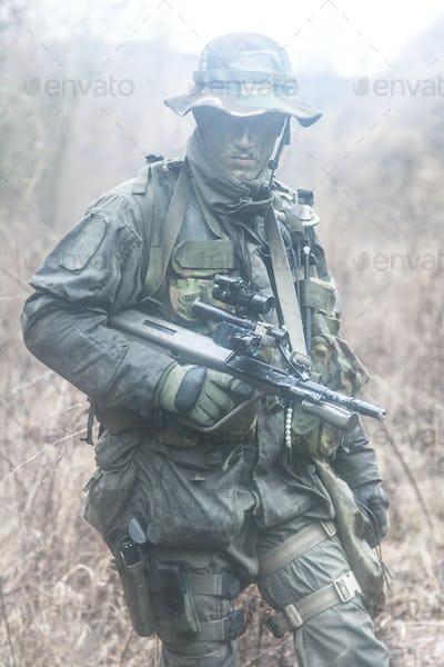 Jagdkommando soldier