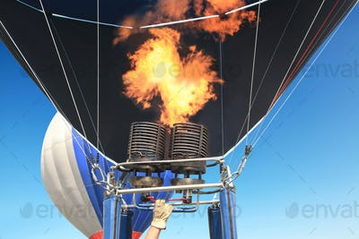 burner of the balloon