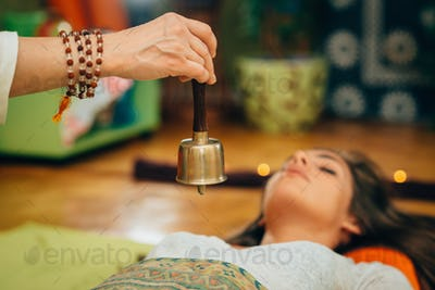 Bali bell in sound therapy