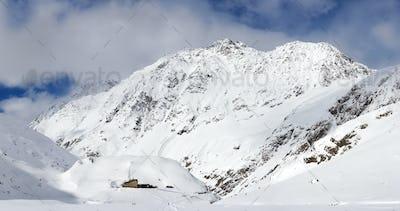 Austrian Winter Mountains