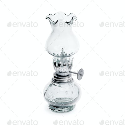 Retro oil lamp white