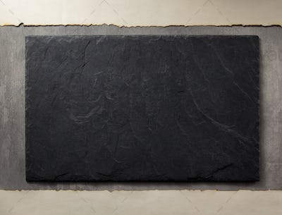 slate and stone surface as background
