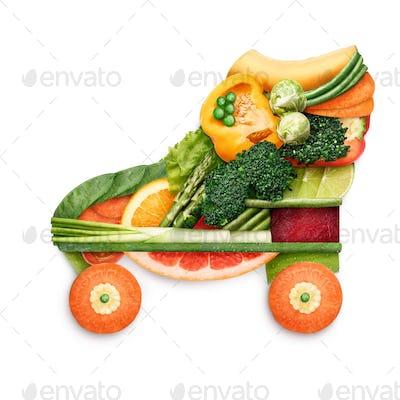 Healthy skating.