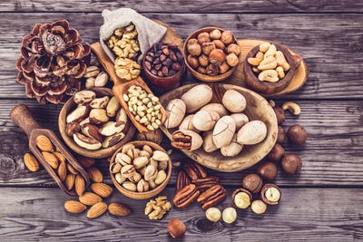 Nuts different types