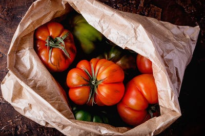 Selection of finest Italian organic tomatoes