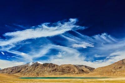 Tso Kar lake, Ladakh, India