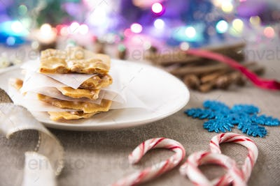 Peanut Brittle for Christmas