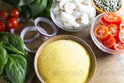 Ingredients for Polenta Recipe