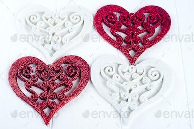 Double heart shape